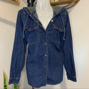 Columbia Jean Button-Up
